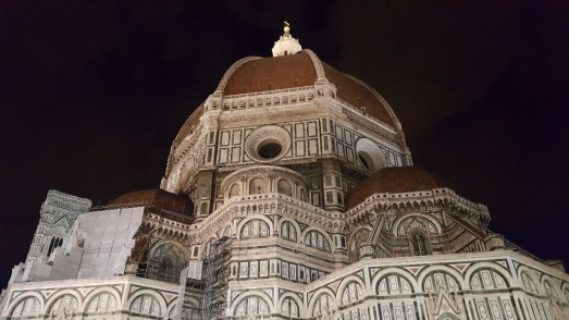 Florence's Il Duomo at night