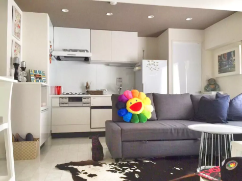A fun, eclectic apartment rental to call home for the week