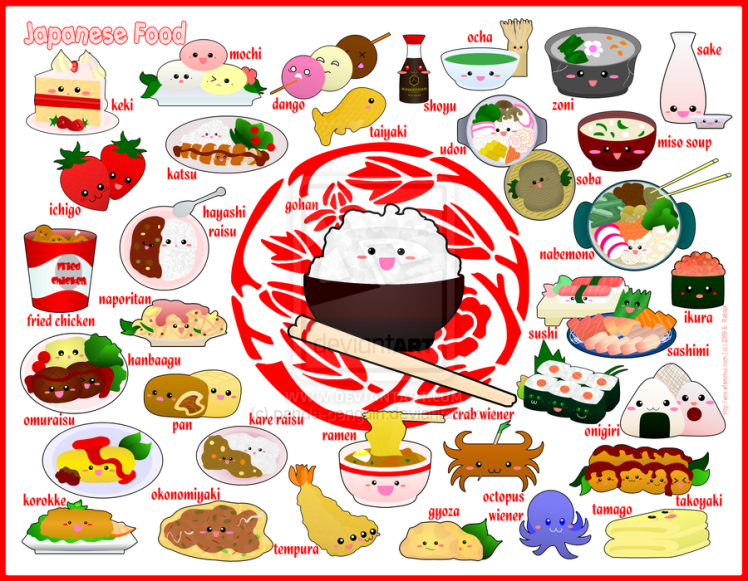 japanese foods