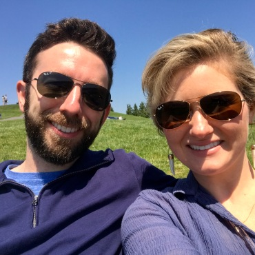 Soaking up the sun at Seattle's Gas Works Park