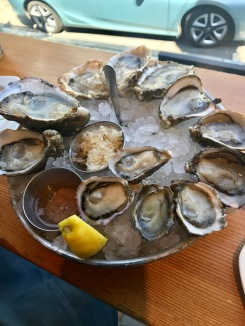 Shucker's dozen at Taylor Shellfish Farms