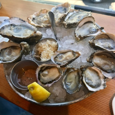 Shucker's dozen at Taylor Shellfish Farms