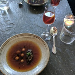 Bateau's beef consomme