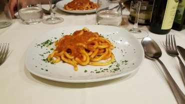 Taverna di Cecco's Pici di Nona (best pasta)