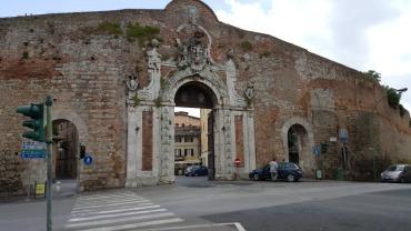 Siena city gate
