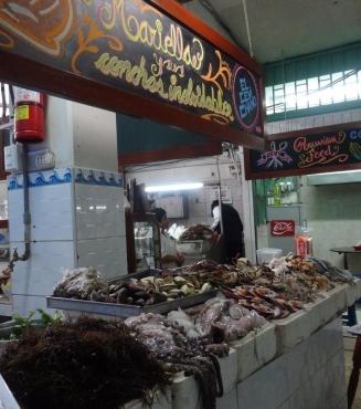 Surquillo Mercado No. 1 - seafood