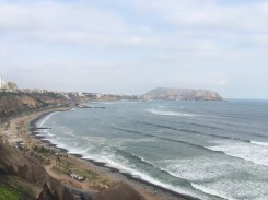 Walking along the coast from Miraflores to Barranco