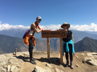 10,000 ft altitude on top of Machu Picchu Montana