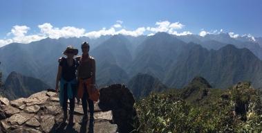 Sweeping views atop Machu Picchu Montana
