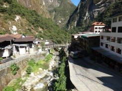 Aguas Calientes, not much here besides Machu Picchu tourism