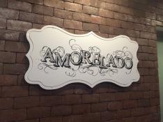 Amorelado gelato shop in Lima