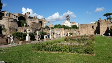 House of the Vestal Virgins in the Roman Forum