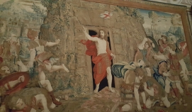 Resurrection of Christ tapestry