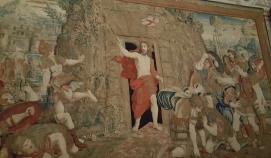 Resurrection of Christ tapestry