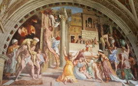 Raphael Rooms - Fire in the Borgo