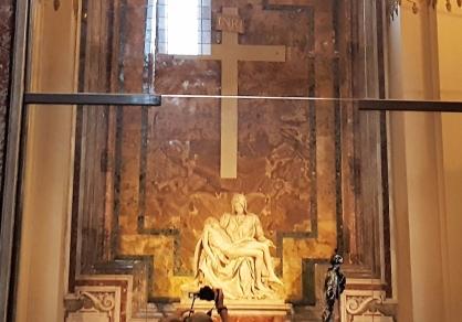 """Michelangelo's """"Pieta"""""""