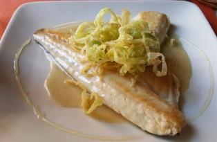 Sciue Sciue Lunch - sea bass plate