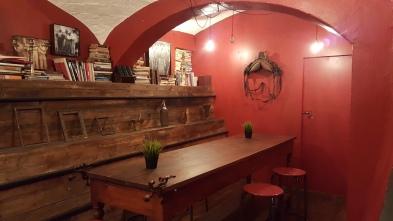 Interior of APT Bar