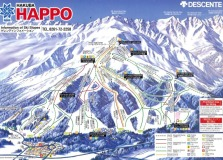Hakuba Happo One Ski Trail Map