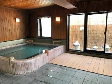 Public onsen at Hotel Hakuba Hifumi