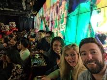 Inside robot restaurant, sheer chaos