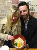 here we are looking totally wrecked at 2 AM in Shinjuku Golden Gai district, I may not remember much else but I do know that this was some tasty sesame udon. Of note, Kana and Aya were still going strong sipping sho chu at this izakaya - Japanese can DRINK
