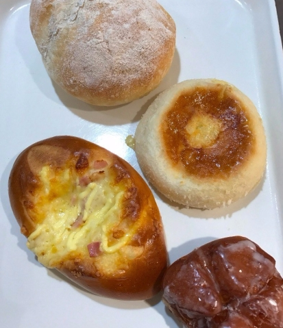 Andersen breads from Tokyu Food Show