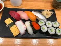 Shinjuku Train Station sushi