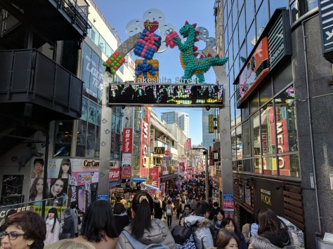 Takeshita Dori - so crowded