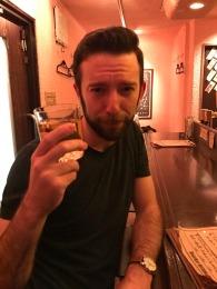 Hibiki at Beer bar Miyama