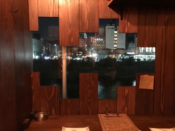 Window nook at Beer Bar Miyama