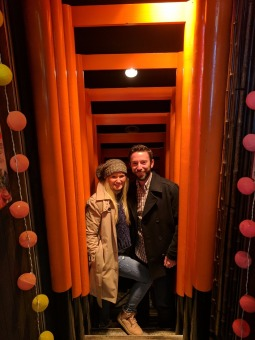 Fushimi Inari torii lined bar in Shibuya