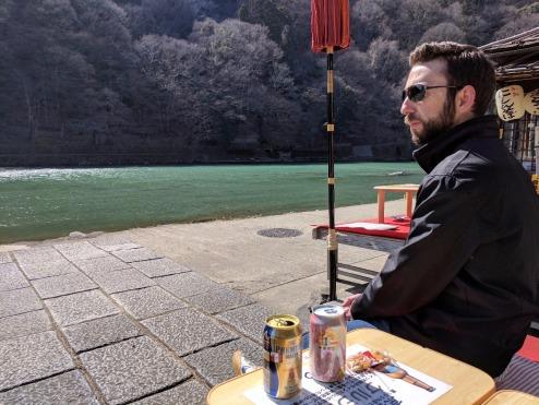 Kameyamamaya on Katsura River