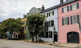 Charleston's Rainbow Row