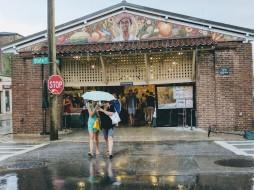 Rainy day at the Historic Market