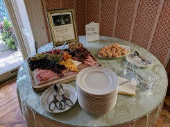 Tea time at John Rutledge House Inn