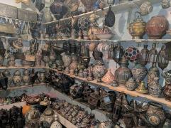 souvenir goods in Chefchaouen medina