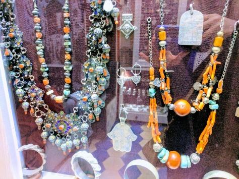 Berber Jewelry in a shop in Essaouira Morocco