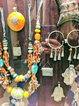 Berber Jewelry in a shop in Essaouira Morocco