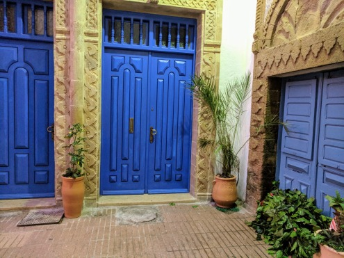 Door in Essaouira Morocco