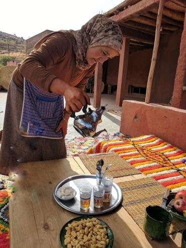 High Atlas berber lunch
