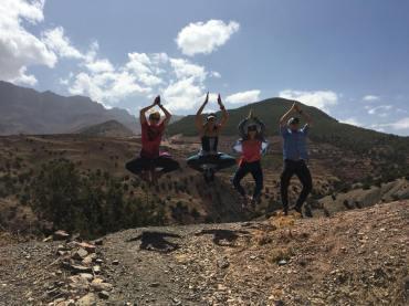 High Atlas Mountains Jumping pic