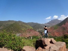 Photo in High Atlas mountains in Morocco