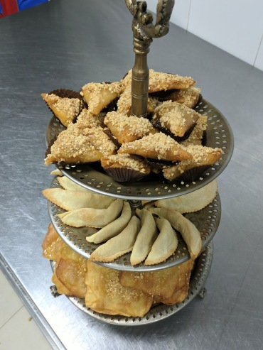 Riad Monceau pastries from cooking class