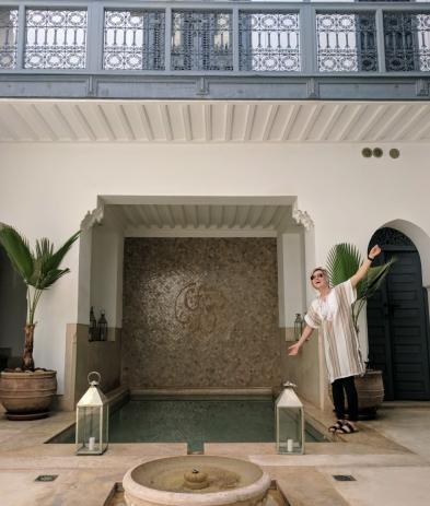 Pool Riad Adore Marrakech Morocco