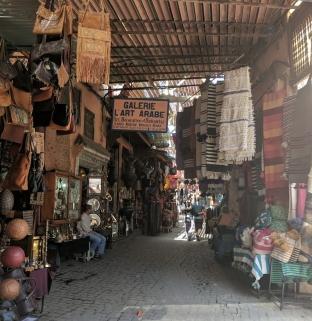 Marrakech, Morocco souks