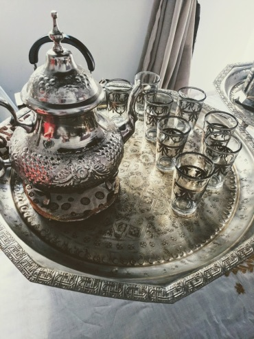 Riad Monceau tea set