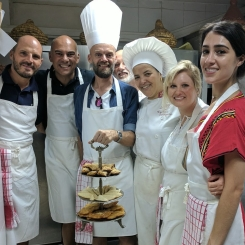 Riad Monceau cooking class in Marrakech, Morocco
