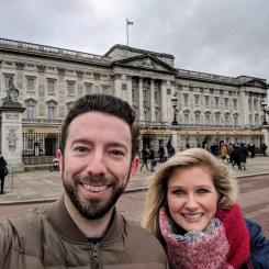 Buckingham palace selfie