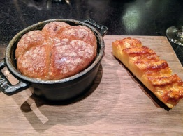 Dinner by Heston Blumenthal London Christmas tipsy cake and roast pineapple